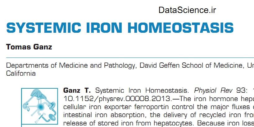 Systemic Iron Homeostasis