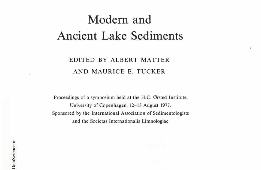 Modern and Ancient Lake Sediments