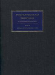The Proterozoic Biosphere A Multidisciplinary Study
