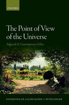 The Point of View of the Universe Sidgwick and Contemporary Ethics