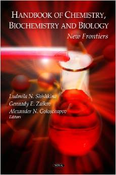 Handbook of Chemistry, Biochemistry and Biology: New Frontiers