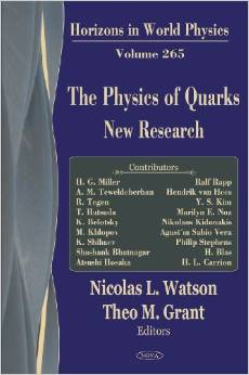 The Physics of Quarks: New Research (Horizons in World Physics, Vol. 265