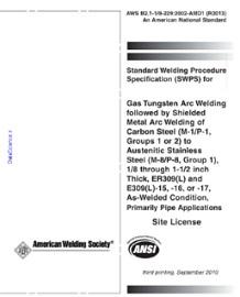 AWS B2.1-1/8-229:2002 AMD1 R2013