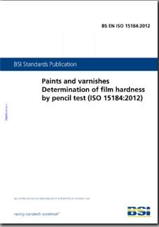 BS EN ISO 15184:2012
