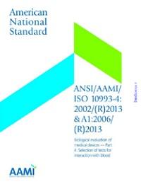 AAMI/ISO 10993-4:2002/(R)2013 & A1:2006/(R)2013