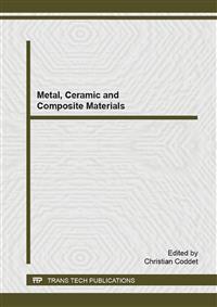 Metal, Ceramic and Composite Materials