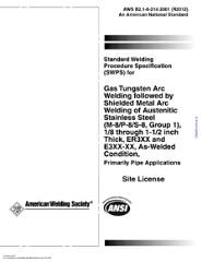 AWS B2.1-8-214 2001(R)2012