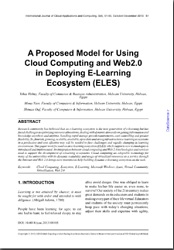 A Proposed Model for Using Cloud