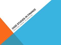 Case Studies in finance – Case 2