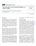 Sensitivity Study on the Design Methodology of an Electric Vehicle