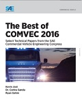 The Best of COMVEC 2016 Select technical papers from the SAE Commercial Vehicle Engineering Congress