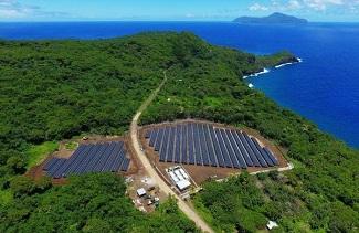 تأمین برق جزیره با خورشید