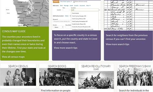 پسورد دسترسی آنلاین به سایت ancestryheritagequest