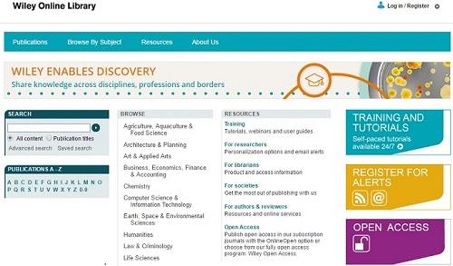 پسورد دسترسی عالی به ژورنالها و کتابهای ناشر معروف Wiley