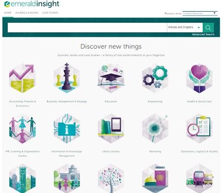 پسورد دسترسی به ژورنالها و کتابهای سایتEmerald Insightدر زمینه تمامی رشته ها