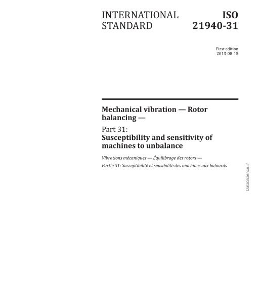 ISO 21940-31:2013