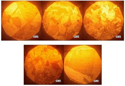 بررسی اثر دما بر خواص مکانیکی و ریزساختاریِ اتصالِ قطعات مسی عاری از اکسیژن و با هدایت الکتریکی بالا به روش نفوذی و مقایسه با عملیات لحیم کاری سخت