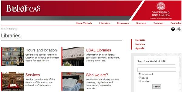 پسورد رایگان دسترسی به منابع الکترونیکی دانشگاهسالامانکا-اسپانیا