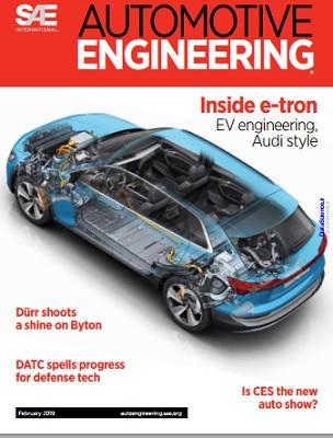 مجله مهندسی خودرو: فوریه 2019